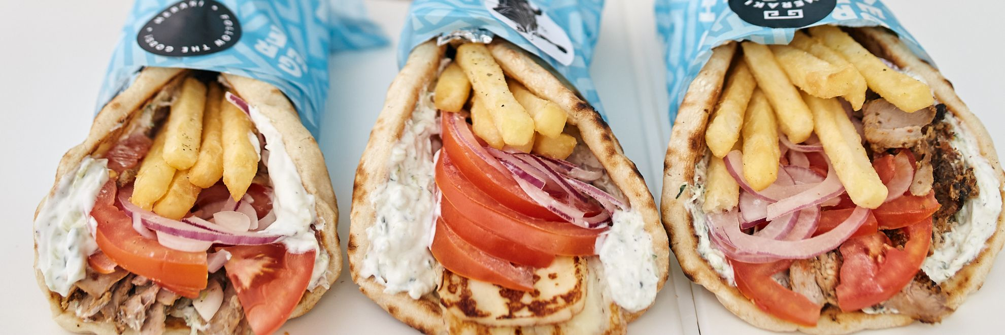 Fresh Greek Street Food